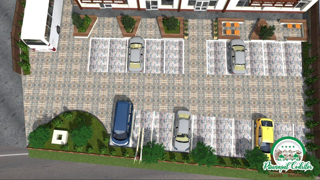 Parcare Motel Păunaşul Codrilor Câmpulung Moldovenesc Suceava Bucovina