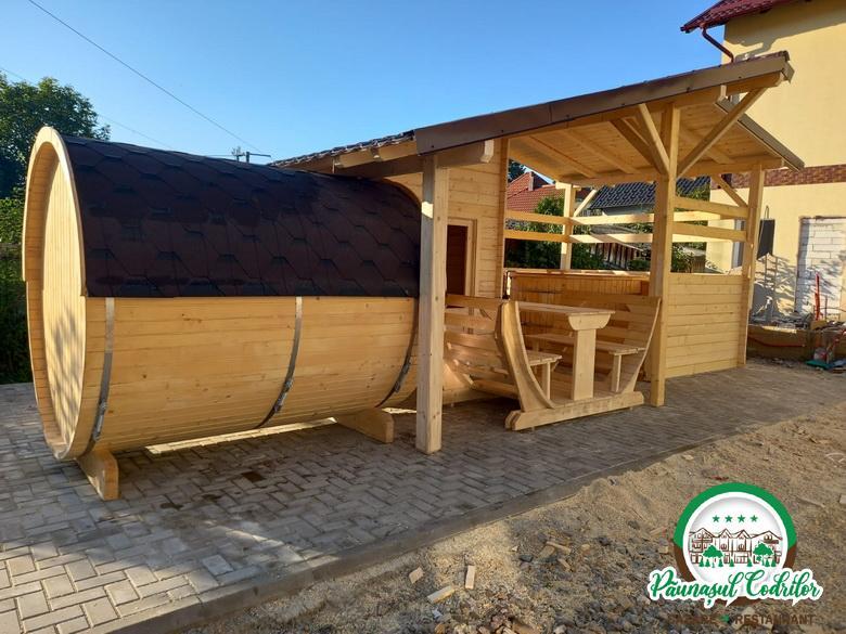sauna cu ciubar Motel Pensiune Păunaşul Codrilor Câmpulung Moldovenesc Suceava Bucovina